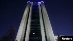 Штаб-квартира «Газпрома» в Москве