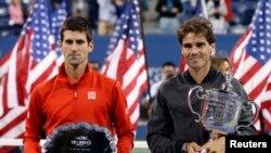 Novak Djokovic y Rafael Nadal llegan al fin de la temporada al tope del ranking mundial, con el español como líder.