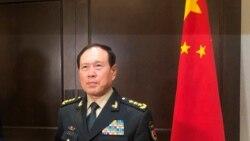 """VOA连线(黎堡):中国防长改口称六四为""""政治动乱"""""""