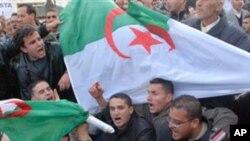 الجزائر میں حکومت مخالف مظاہرہ