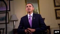 U redovnom subotnjem obraćanju naciji, američki predsednik govorio o Kongresu i izborima i pozvao na zajednički rad za dobrobit države, 30. oktobar 2010.