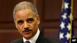Američki sekretar za pravosuđe, Erik Holder