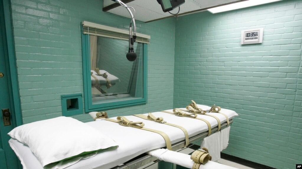 Một phòng xử tử tội ở Mỹ.