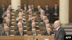 Выступление Александра Лукашенко в белоруском парламенте 21 апреля 2011