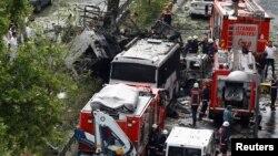 انفجار در مرکز استانبول ترکیه دست کم ۱۱ کشته از جمله هفت پلیس و ۳۶ زخمی به جای گذاشت.