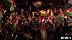 Slavlje iračkih Kurda posle referenduma