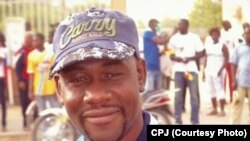 Ahmed Abba, journaliste camerounais, soupçonné d'avoir collaboré avec Boko Haram.