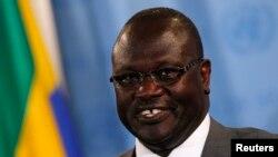 리에크 마차르 전 남수단 부통령 (자료사진)