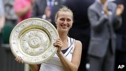 Kvitova pobjednica Wimbledona