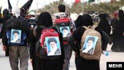 از ایران بیش از یک و نیم میلیون نفر برای شرکت در اربعین به کربلا رفتند.