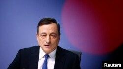 European Central Bank (ECB) President Mario Draghi