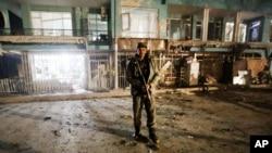 حمله انتحاری چهارشنبه شب در کابل