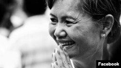 Bà Mu Sochua.