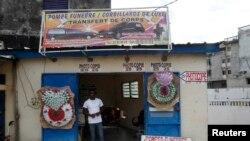Un commerçant de Yopougon.