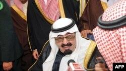 Quốc vương Abdullah của Ả Rập Xê-út (ảnh tư liệu ngày 23 tháng 2, 2011)