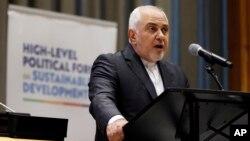 İranın xarici işlər naziri Məhəmməd Cavad Zərif