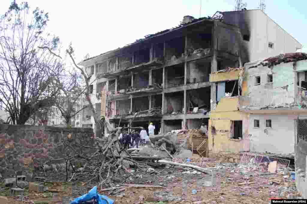 PKK-nın Cinardakı bomba hücumunun nəticəsi