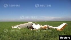 小型飛機墜毀 (資料圖片)