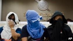Beberapa perempuan yang jadi korban perdagangan manusia ke China (foto: ilustrasi).