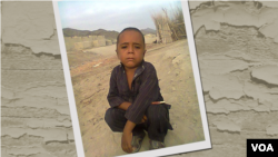 Four-year-old Hussain Baloch