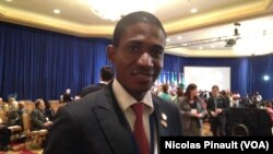 Affre N'Dri, entrepreneur ivoiriende N.Pinault/VOA