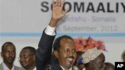 Tổng thống mới của Somalia Hassan Sheikh Mohamud