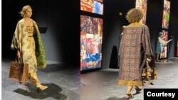 Kain Endek Bali menjadi bagian dari desain baru Christian Dior untuk koleksi musim semi dan musim panas 2021. (Foto: KBRI Paris)