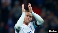 Wayne Rooney à Londres lors du match contre l'Ecosse, le 11 novembre 2016
