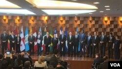 Grupo de Lima acuerda seguir trabajando con el único objetivo de que Venezuela recupere la democracia.