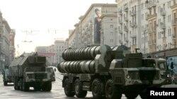 Подготовка к военному параду в Москве