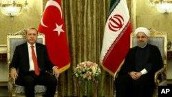 Erdogan û Ruhanî