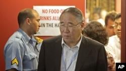 中國參加德班會議的談判代表解振華