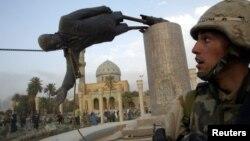 Багдад. Ирак. 9 апреля 2003 г.