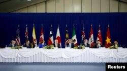 美国总统奥巴马就签署跨太平洋伙伴协定问题与太平洋地区国家领导人举行会谈。