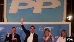 Mariano Rajoy se mostró confiado para competir en las próximas elecciones presidenciales luego de la contundente victoria de su partido en las pasadas elecciones locales y regionales en España.