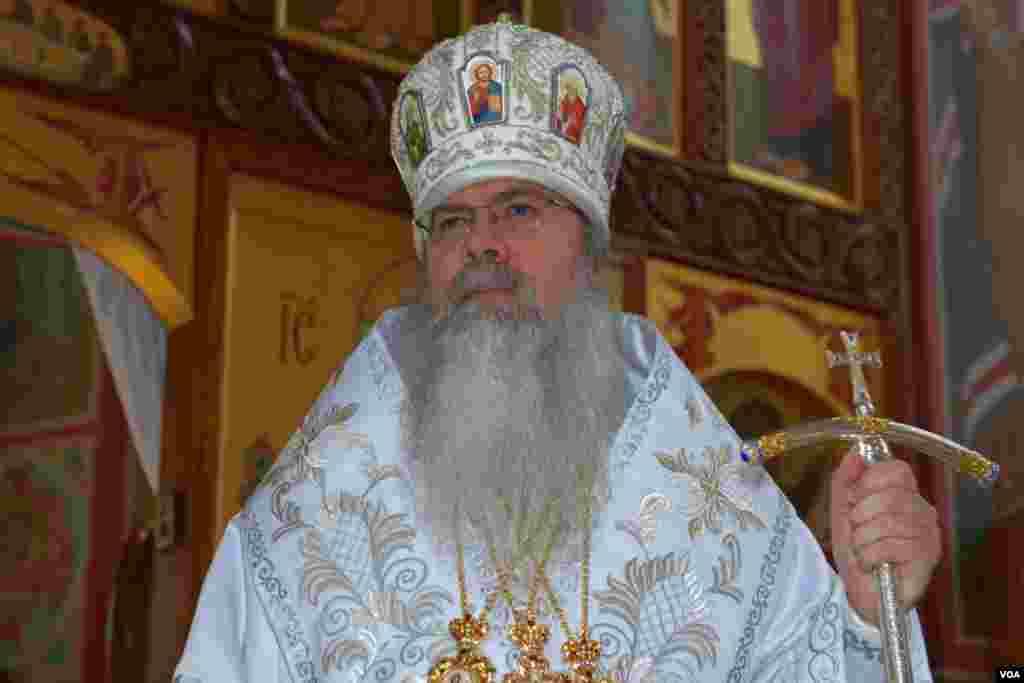 Предстоятель Православной Церкви в Америке архиепископ Вашингтонский, митрополит всей Америки и Канады архиепископ Тихон