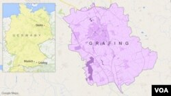 Map of Grafing, Germany