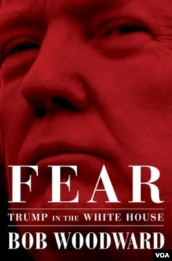 "The book, ""Fear, Trump in the White House,"" authored by Bob Woodward and published by Simon & Schuster, is to be released September 11."