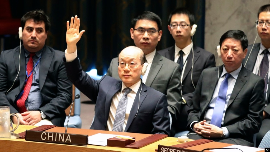 Image result for China implements United Nations on North Korea