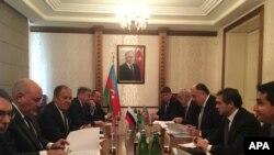 Elmar Məmmədyarov və Sergey Lavrov