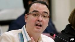 Menteri Luar Negeri Filipina, Peter Cayetano yang menjadi Ketua ASEAN (foto: dok).