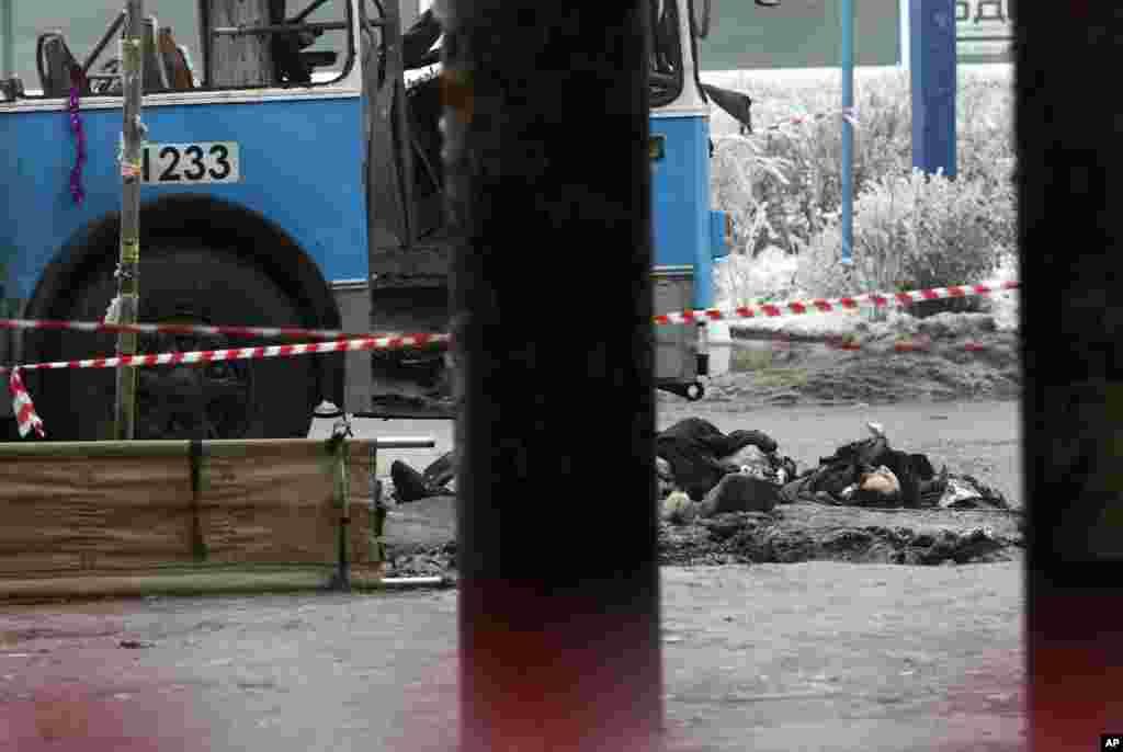 ვოლგოგრადში აფეთქება მოხდა
