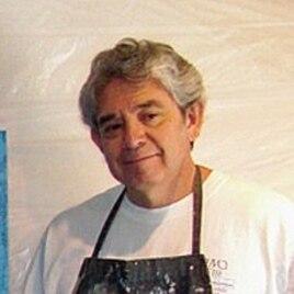 Mexican-American artist Tony Ortega's work often explores the Latino immigrant experience.