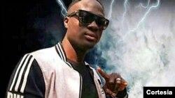 P.W., músico da Guiné-Bissau