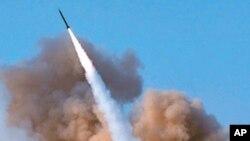 단거리 미사일을 시험 발사하는 이란 혁명수비대(자료사진)