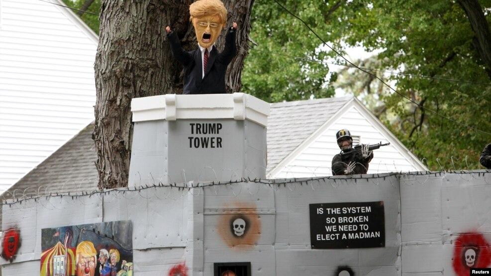 Festa e Halloween çliron tensionet e votuesve amerikanë