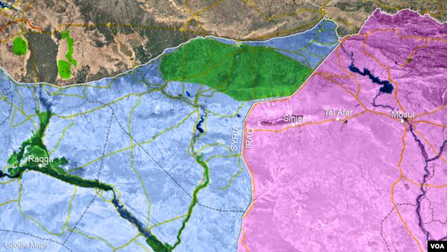 Mosul, Tal Afar and Sinjar, Iraq