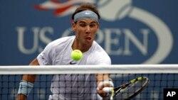 Setelah menyelesaikan turnamen AS Terbuka, petenis Spanyol Rafael Nadal akan memperkuat tim piala Davis negaranya (foto: dok).