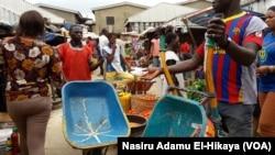 Wai bangaren kasuwar Garki dake Abuja