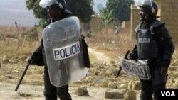 Polícia em acção